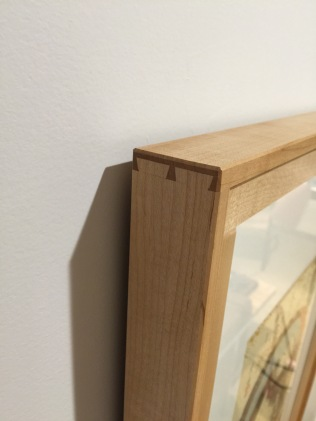 dovetail corner of frame
